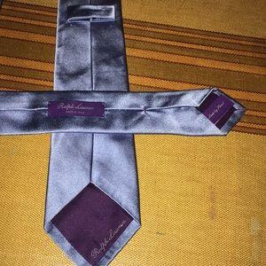 Ralph Lauren Purple Label Made in Italy Silk Tie